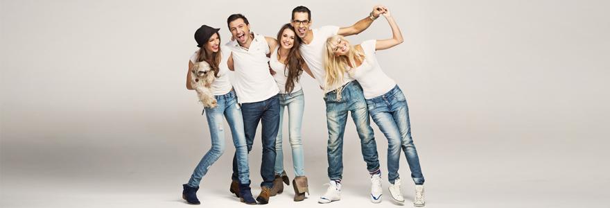Portez des jeans