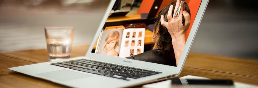 coiffeur en un clic en ligne