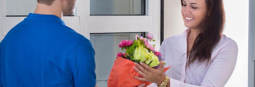 fleurs partout en France sans quitter son domicile