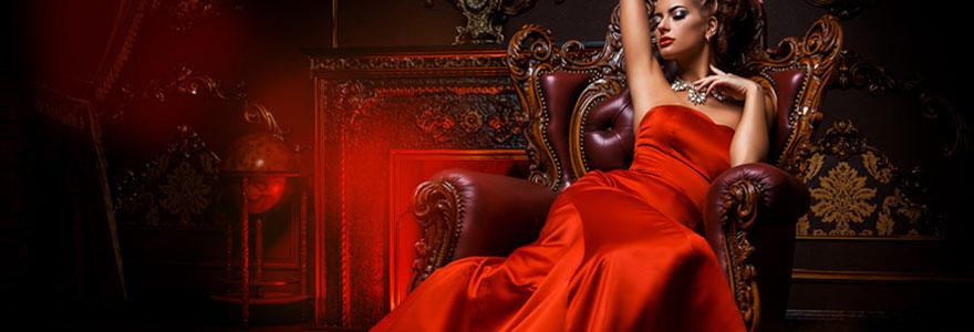 Choisir et porter une robe longue