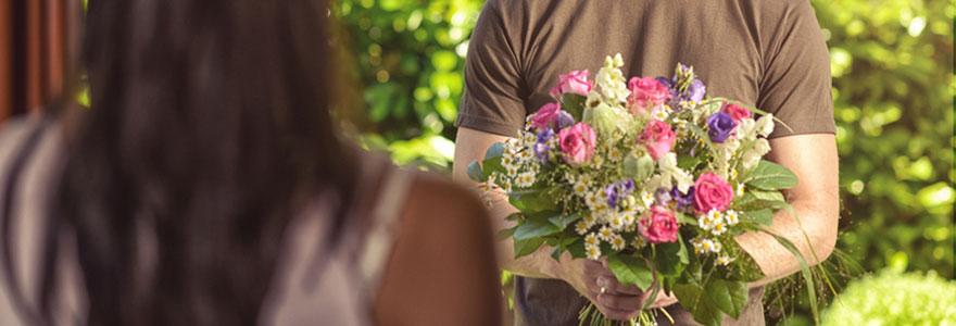 Faire livrer des fleurs sans connaître l'adresse de la personne
